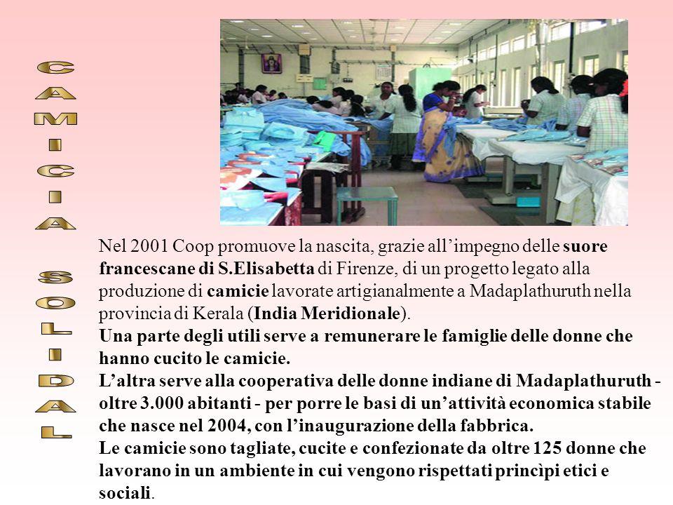 SOLIDAL è la linea di prodotti con i quali la COOP rende concreto il suo sostegno alle cooperative e alle comunità del Sud del Mondo per garantire: il