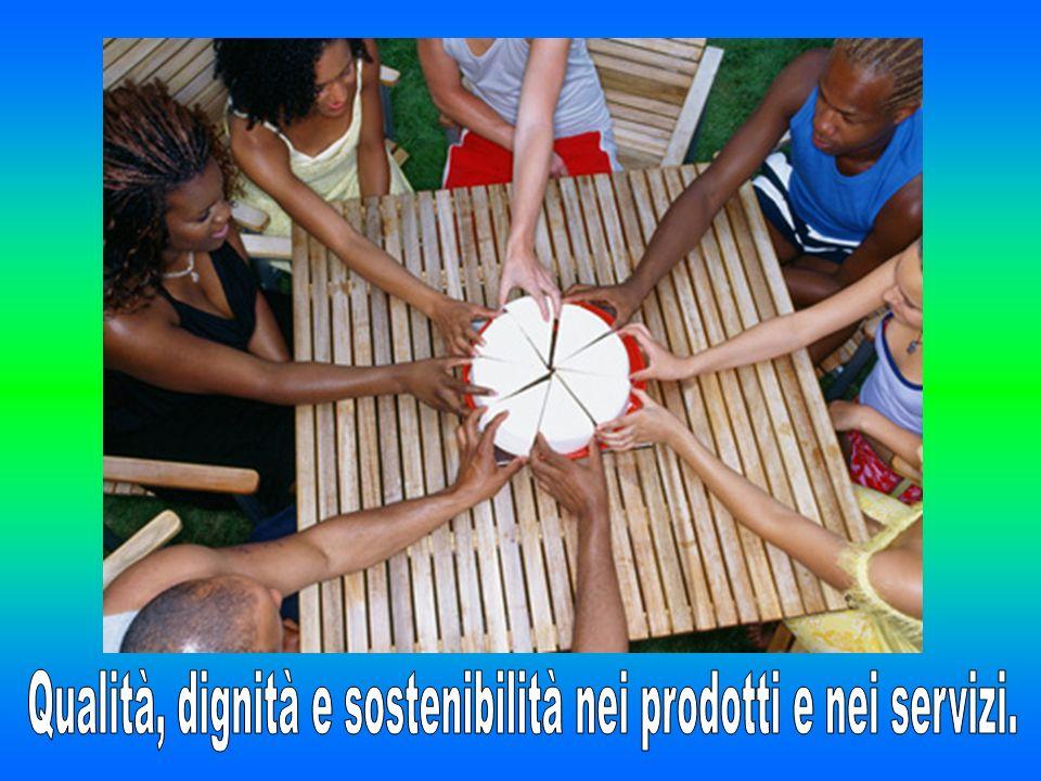 Le Botteghe del Mondo sono organizzazioni di distribuzione al dettaglio dei prodotti del Commercio Equo e Solidale che rispettano i criteri elencati nella Carta dei Criteri italiana.