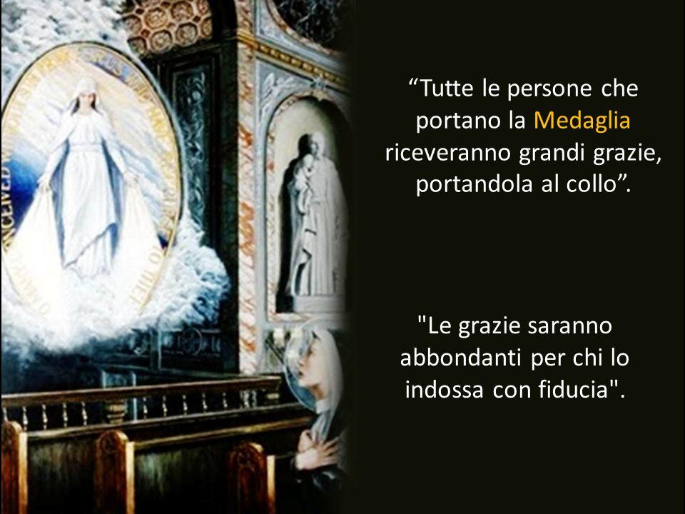 La Madonna apparve a una umile religiosa e ha detto: