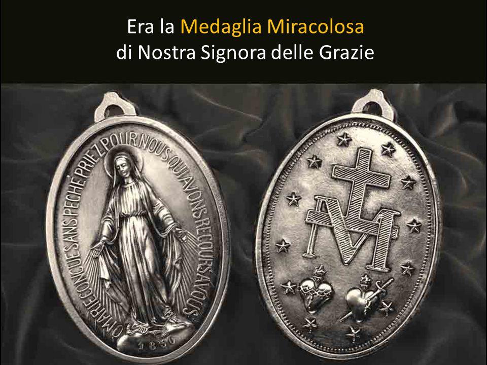 Ma qualera questa Medaglia? Che conteneva una promessa così forte fatta dalla stessa Vergine Maria?