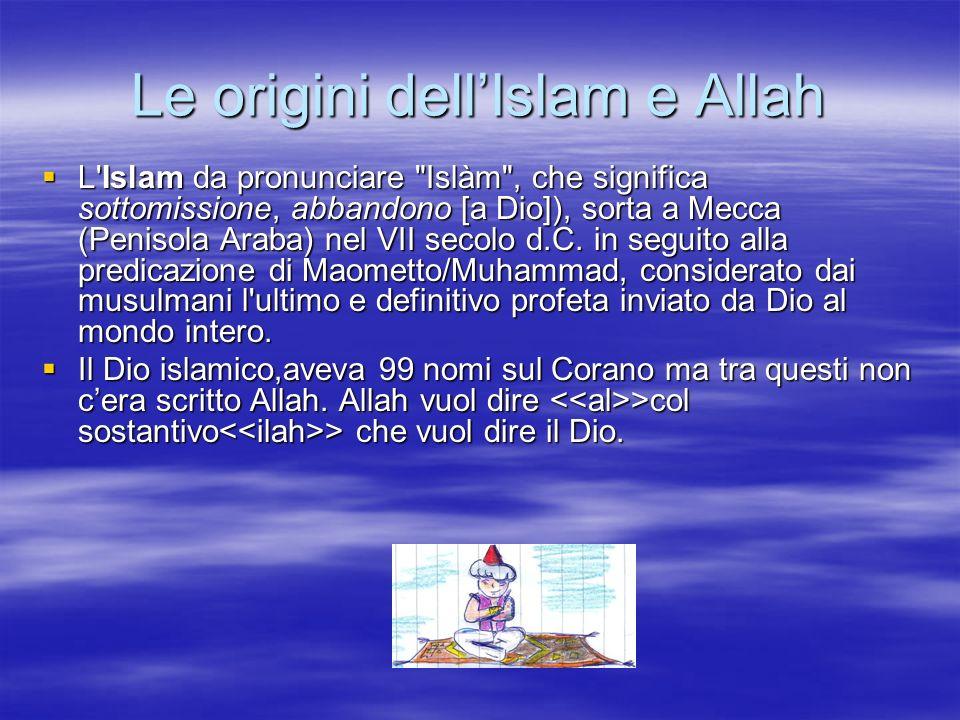 Le origini dellIslam e Allah L'Islam da pronunciare