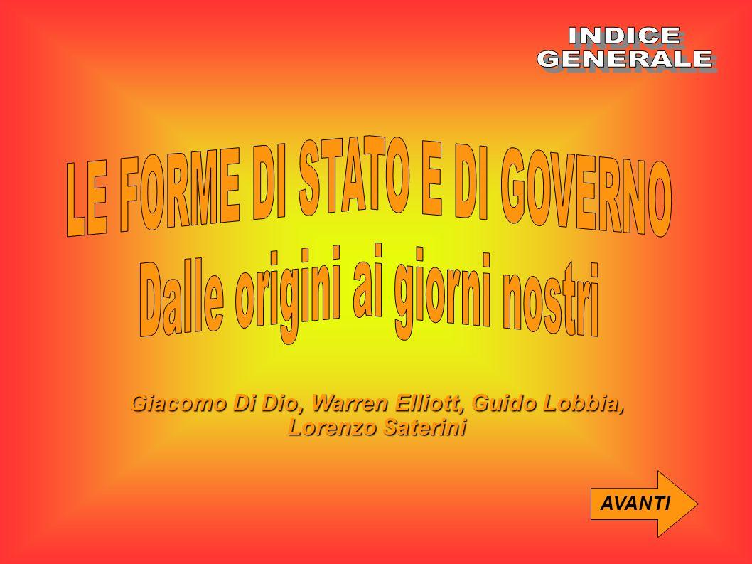 Giacomo Di Dio, Warren Elliott, Guido Lobbia, Lorenzo Saterini AVANTI