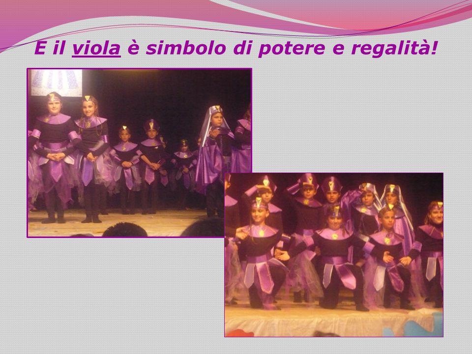 E il viola è simbolo di potere e regalità!