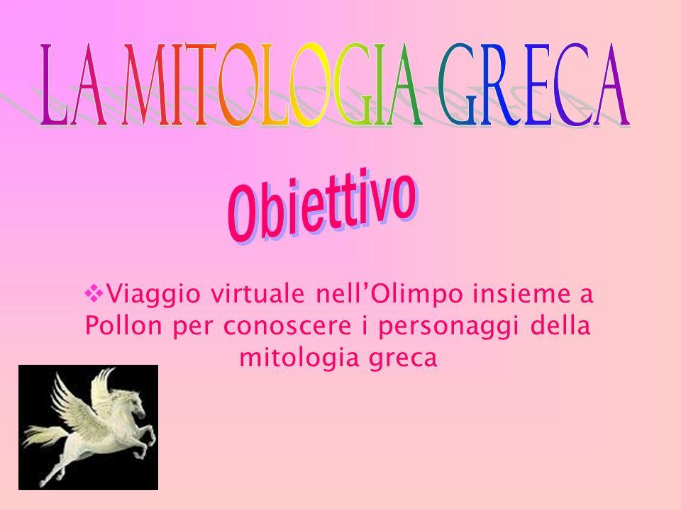 Viaggio virtuale nellOlimpo insieme a Pollon per conoscere i personaggi della mitologia greca