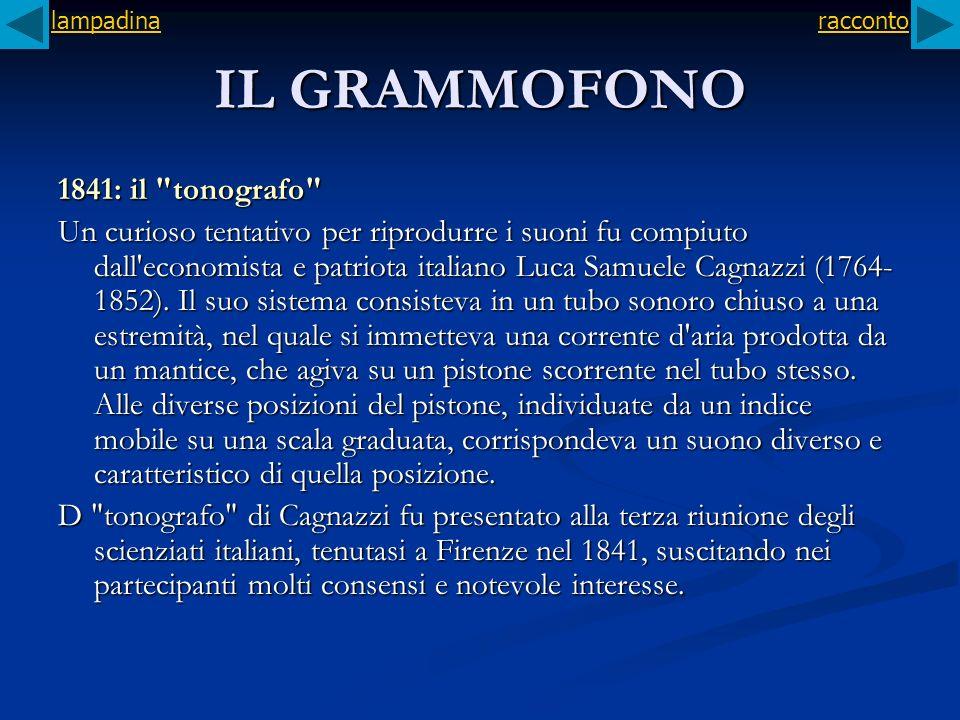 IL GRAMMOFONO 1841: il