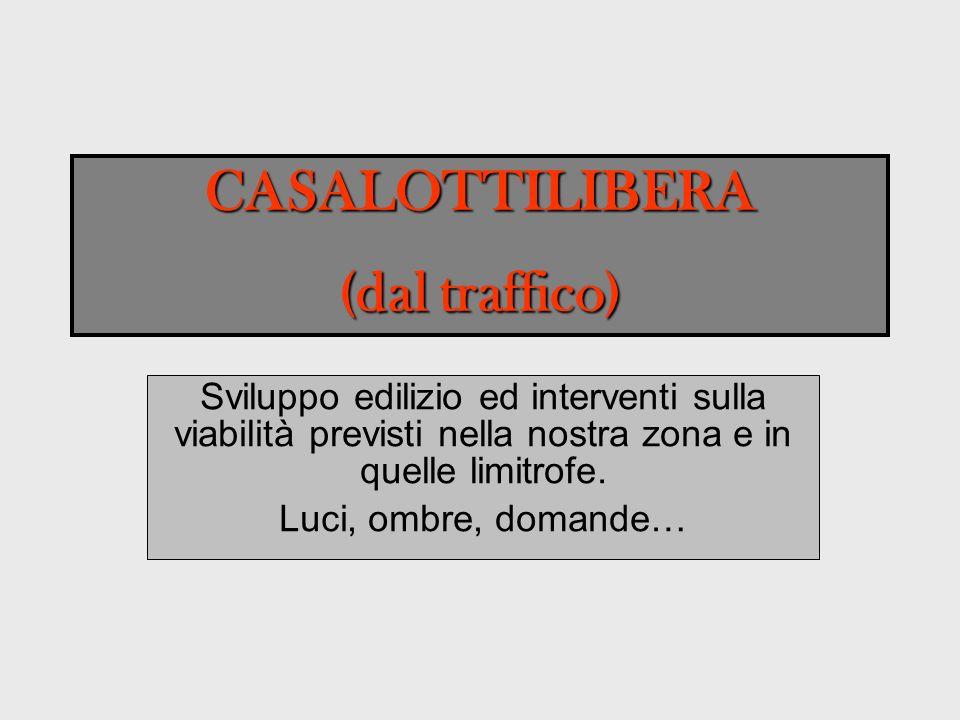 Casalotti 37052 abitanti (censimento 2009) Selva Candida 15/20 mila abitanti Selva Nera 5/10 mila abitanti