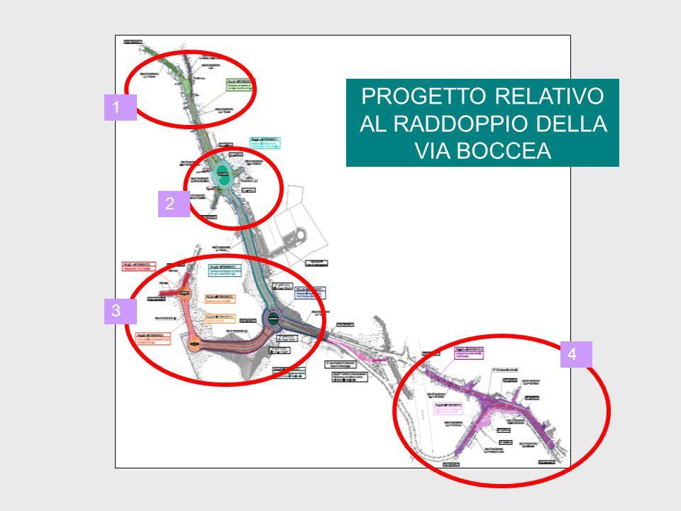 PROGETTO RELATIVO AL RADDOPPIO DELLA VIA BOCCEA 1 2 3 4