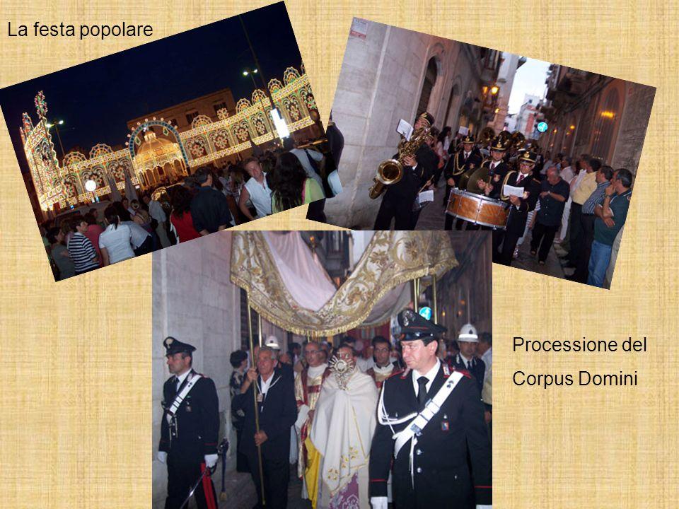 Processione del Corpus Domini La festa popolare