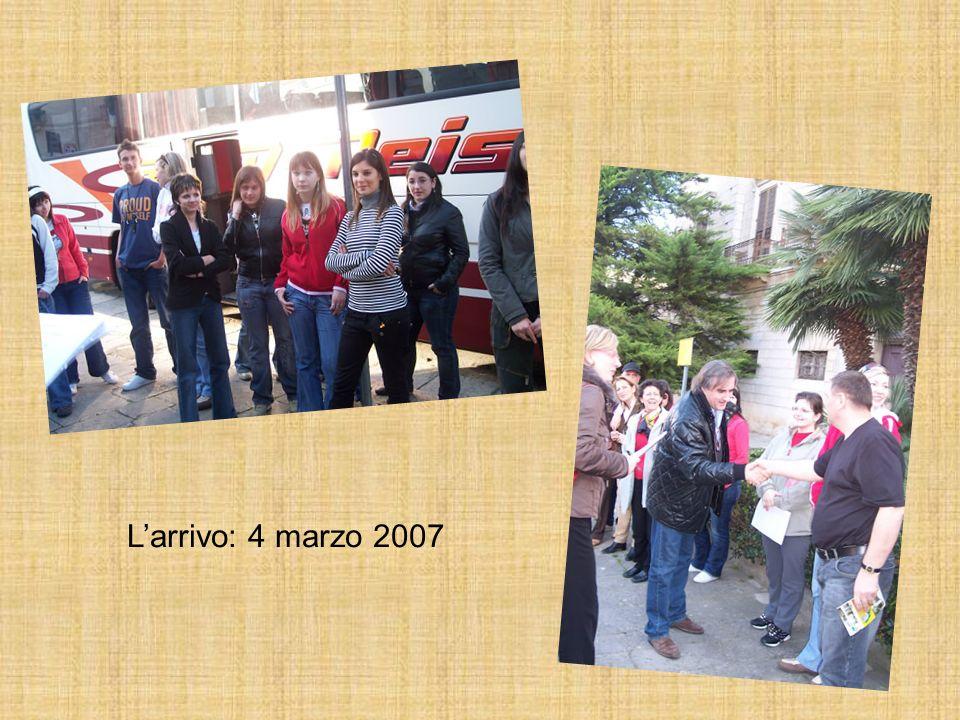 Larrivo: 4 marzo 2007