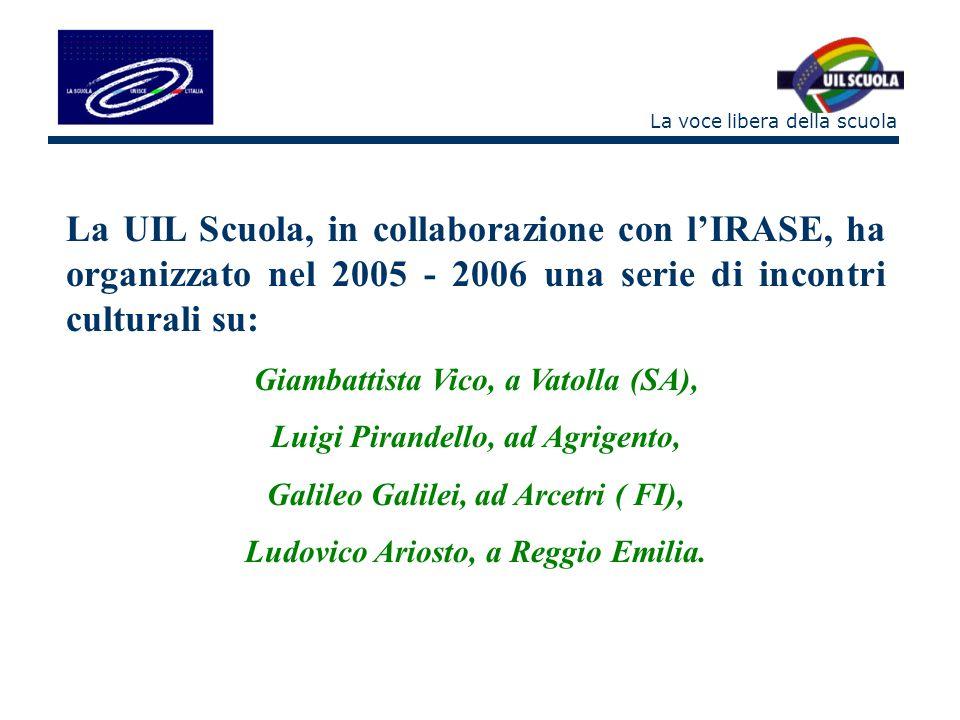 La voce libera della scuola Nel 2007 - 2008 lesperienza continua con: Grazia Deledda, a Nuoro 26 – 27 aprile 2007 Edmondo De Amicis, a Imperia 18 – 19 ottobre 2007 Enrico Fermi, a Roma 5 – 6 marzo 2008