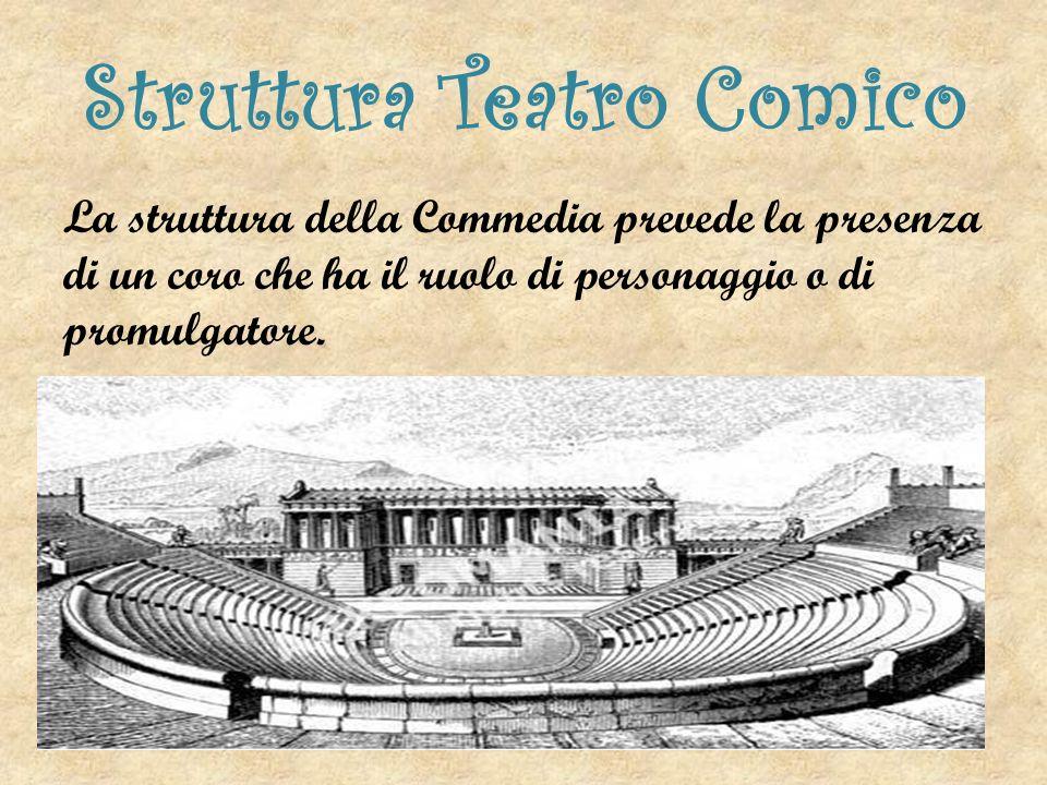 Il Teatro Comico a Roma Per quanto riguarda il teatro comico a Roma il genere più diffuso è la Palliata, nome che deriva dal termine «Pallium» che significa Mantello Greco.