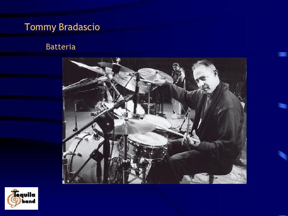 Tommy Bradascio Batteria