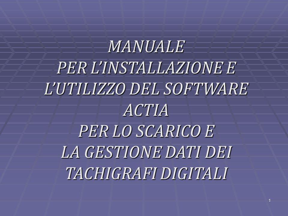 2 SOFTWARE TACHOSTORE Prima versione (2006) : v.4.13 Ultima versione rilasciata (2012) : v.