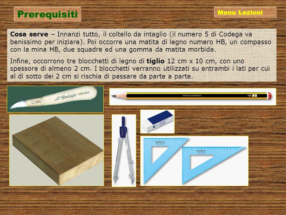 Lezione 1Lezione 3Lezione 2 Lezione 4Lezione 5Lezione 6 http://digilander.libero.it/michaelf Prerequisiti Menu Principale Taglio Conclusione