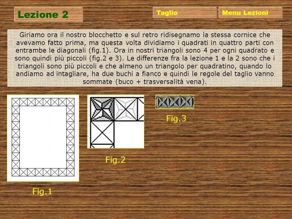 Lezione 1 Menu Lezioni Preso un blocchetto di legno, si disegna al suo interno un rettangolo di 10x8 cm ad un centimetro quindi dal bordo. All'interno