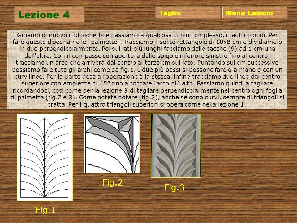 Lezione 3 Menu Lezioni Prendiamo un nuovo blocchetto e ridisegnamo tutto come la lezione 2, solo che ora affronteremo un taglio a quadrato, ossia aspo