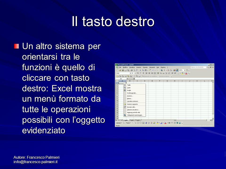 Autore: Francesco Palmieri info@francesco.palmieri.it..specificare il formato Mettiamo di volere i caratteri in grassetto, una operazione piuttosto comune.