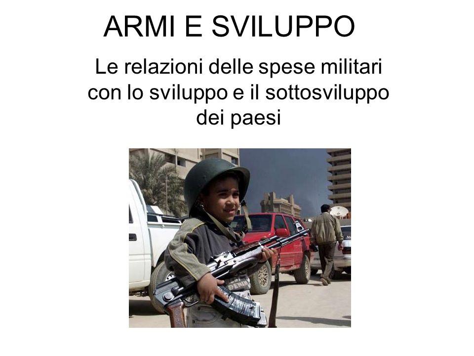 ITALIA PRODUTTRICE DI ARMI Le esportazioni italiane di armamenti, pari al valore di un miliardi e mezzo di euro nel 2004, sono state effettuate essenzialmente dal gruppo Finmeccanica (45%), dal gruppo Fincantieri (26%) dal gruppo FIAT (11%), e dalla Oerlikon-Contraves (6%).
