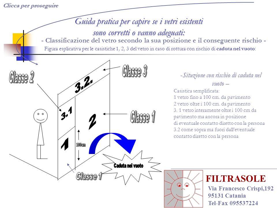 Clicca qui per proseguire Copyright Abires Copyright Abires - 2003 FILTRASOLE Via Francesco Crispi,192 95131 Catania Tel-Fax 095537224 Conclusioni Come riconoscere un vetro di sicurezza.
