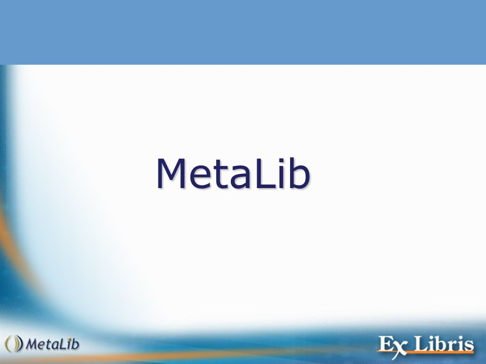 MetaLib