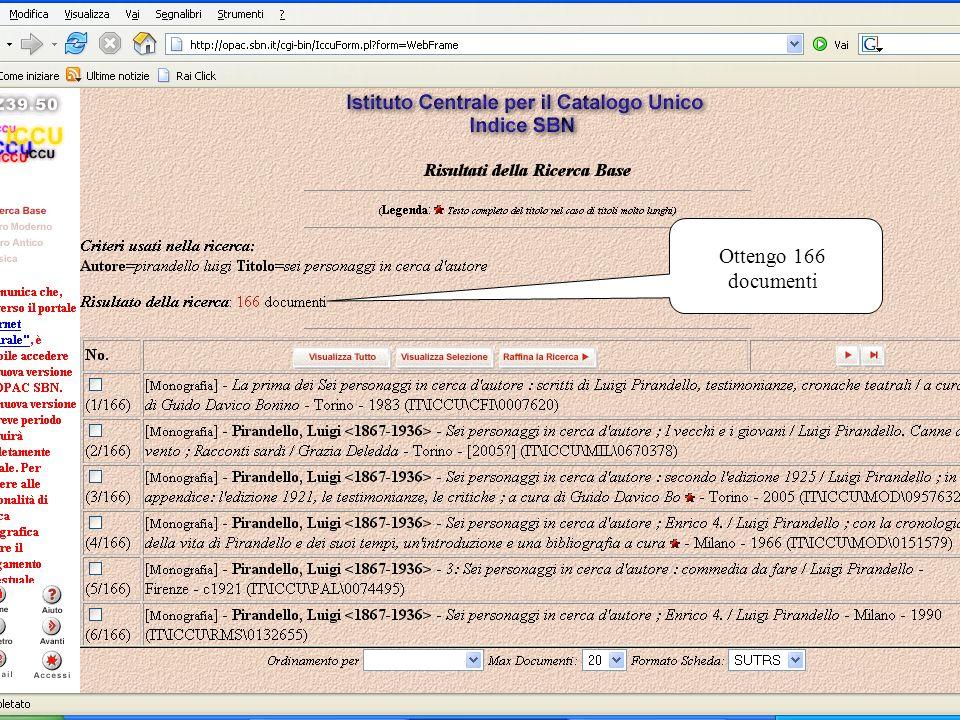 Maria De Panicis24 Ottengo 166 documenti