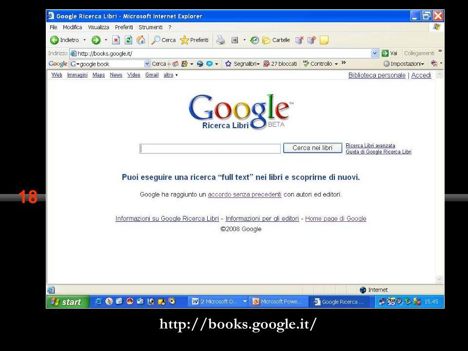 18 http://books.google.it/