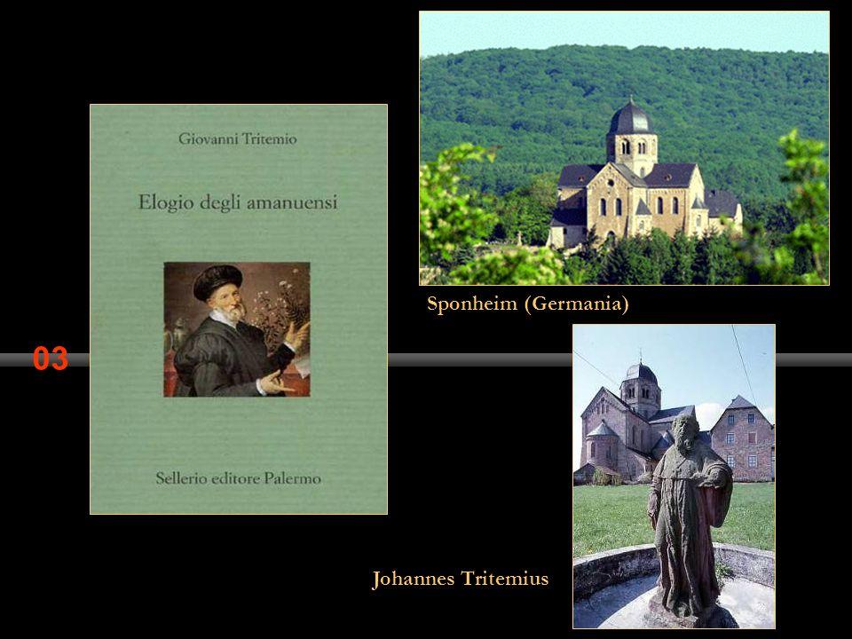 03 Johannes Tritemius Sponheim (Germania)