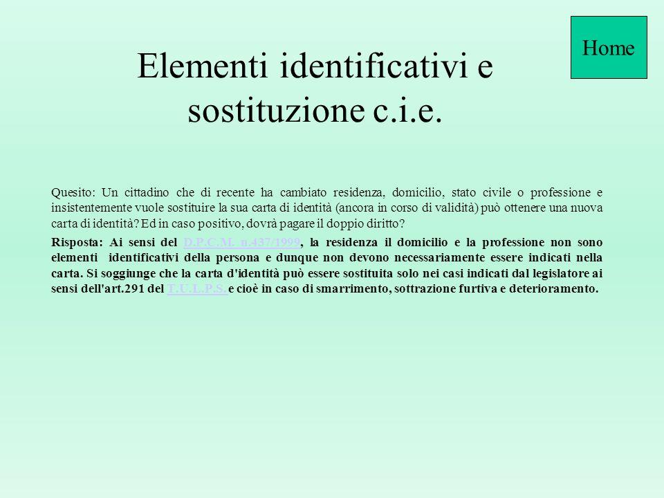 Modalità restituzione supporti difettosi CIE sito Direzione Centrale Servizi Demografici (Area CIE Competenze - Documenti sperimentazione II^ fase) 6