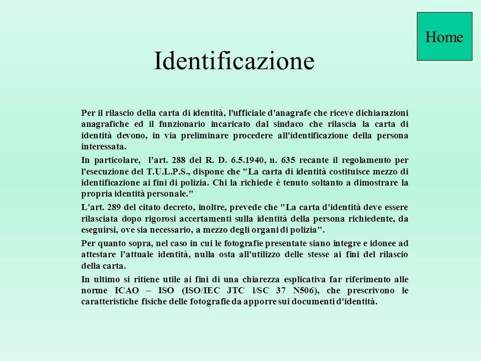 Identificazione tramite testimoni (II^ parte) Ne consegue, pertanto, che in mancanza di altri documenti di identificazione in corso di validità, è pos