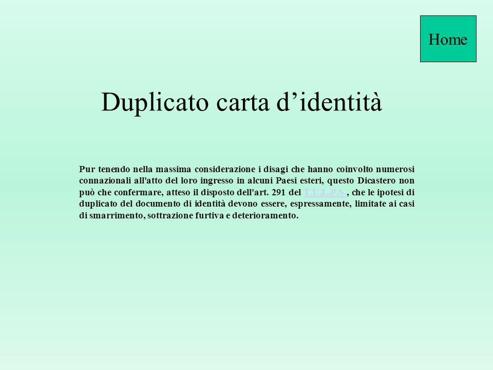 CIE non prorogata Quesito: Nellemettere la nuova carta identità cartacea, quella elettronica in possesso del cittadino e rilasciata dal precedente Com
