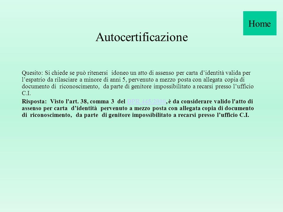 R.D. n. 635/1940, art. 291 La carta d identità è esente da tassa di bollo.