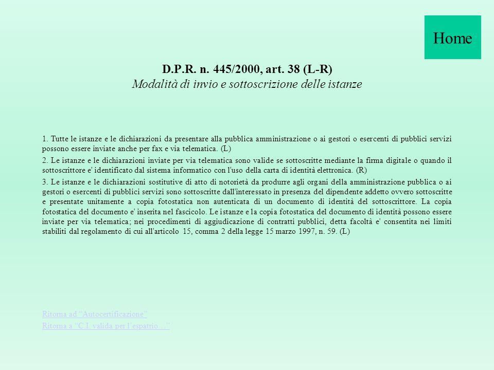 Circolare n. 8/2008 Oggetto: Decreto Legge 24 giugno 2008 recante