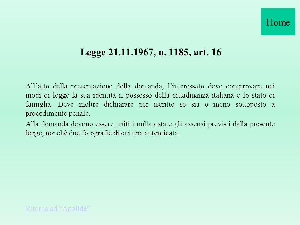 D.P.R. n. 649 del 6 agosto 1974 Disciplina dell'uso della carta d'identità e degli altri documenti equipollenti al passaporto ai fini dell'espatrio 1.