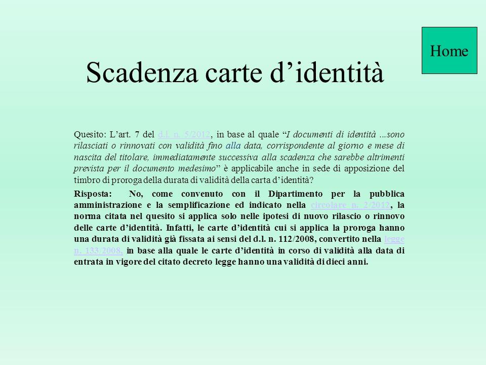 D.P.R.n. 445/2000, art. 35 (L-R) Documenti di identita e di riconoscimento 1.