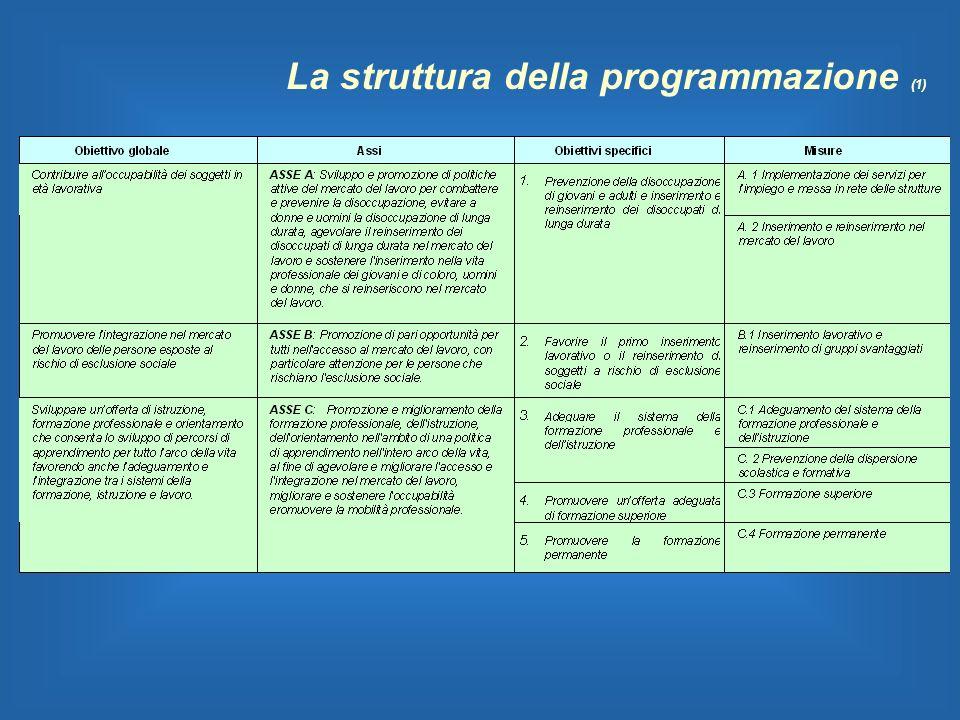 La struttura della programmazione (1)