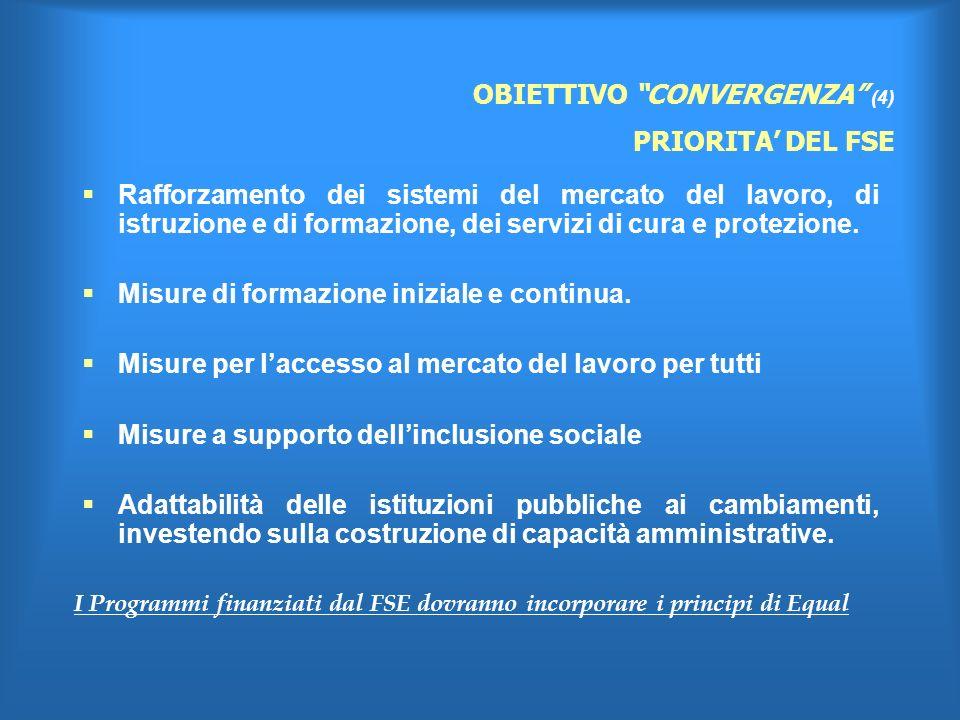 Rafforzamento dei sistemi del mercato del lavoro, di istruzione e di formazione, dei servizi di cura e protezione.