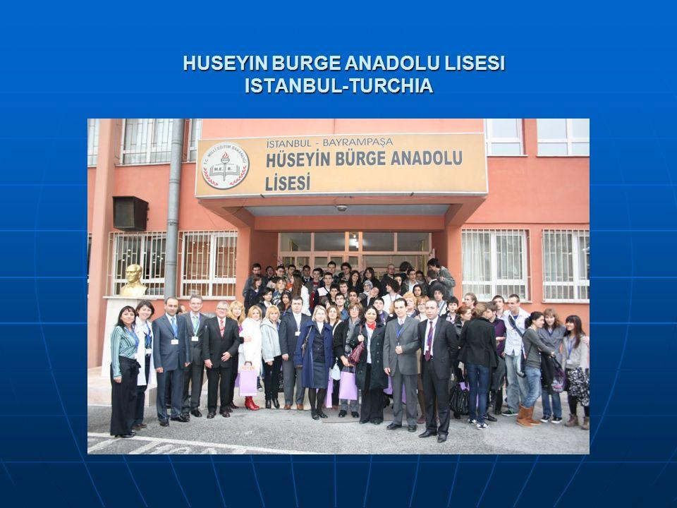 HUSEYIN BURGE ANADOLU LISESI ISTANBUL-TURCHIA HUSEYIN BURGE ANADOLU LISESI ISTANBUL-TURCHIA