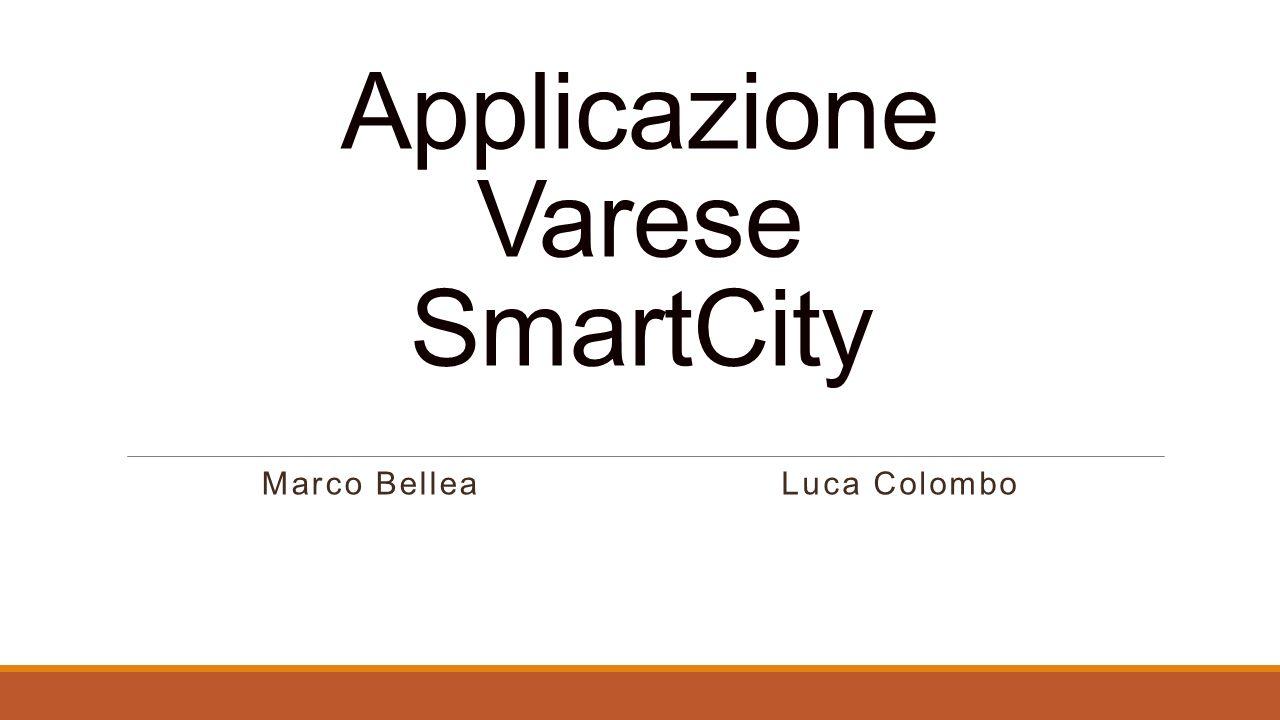 Varese SmartCity Il progetto Varese SmartCity è tra i più importanti esempi di Smart City a livello italiano.