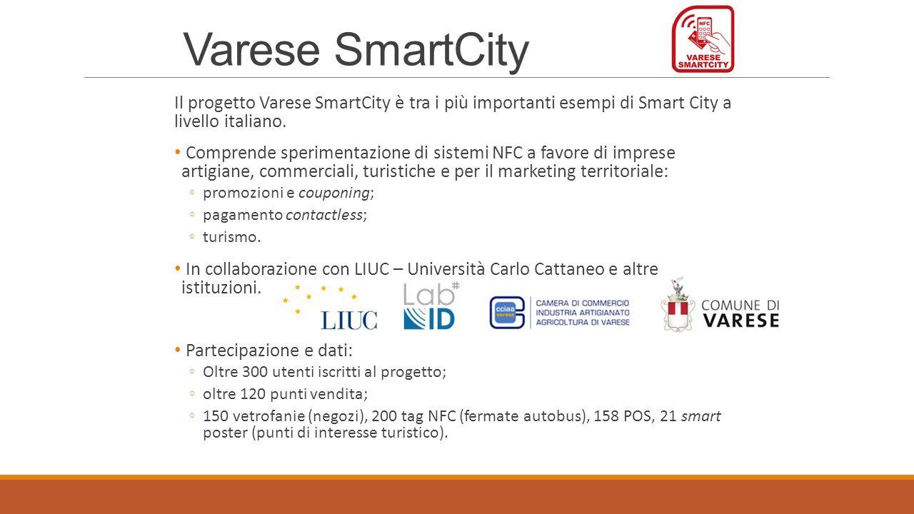 Lapp Varese SmartCity Promozioni vicine allutente (geo-localizzazione).