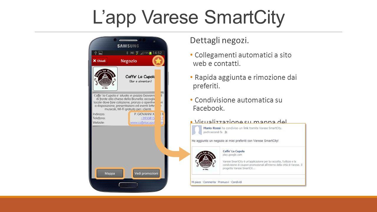 Lapp Varese SmartCity Negozi preferiti salvati dallutente.