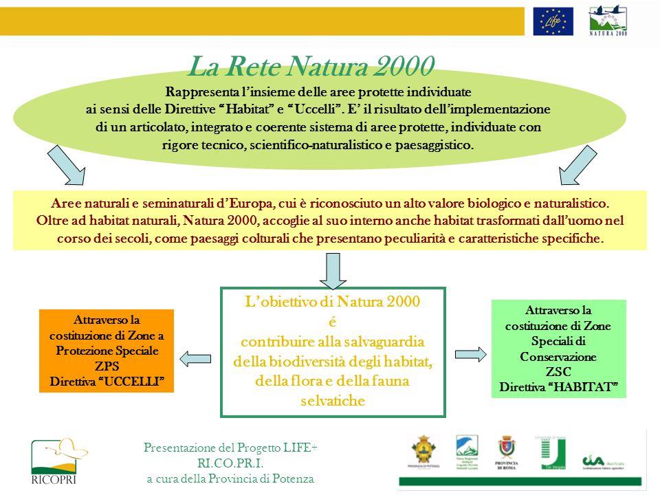 ….in provincia di Potenza Presentazione del Progetto LIFE+ RI.CO.PR.I.