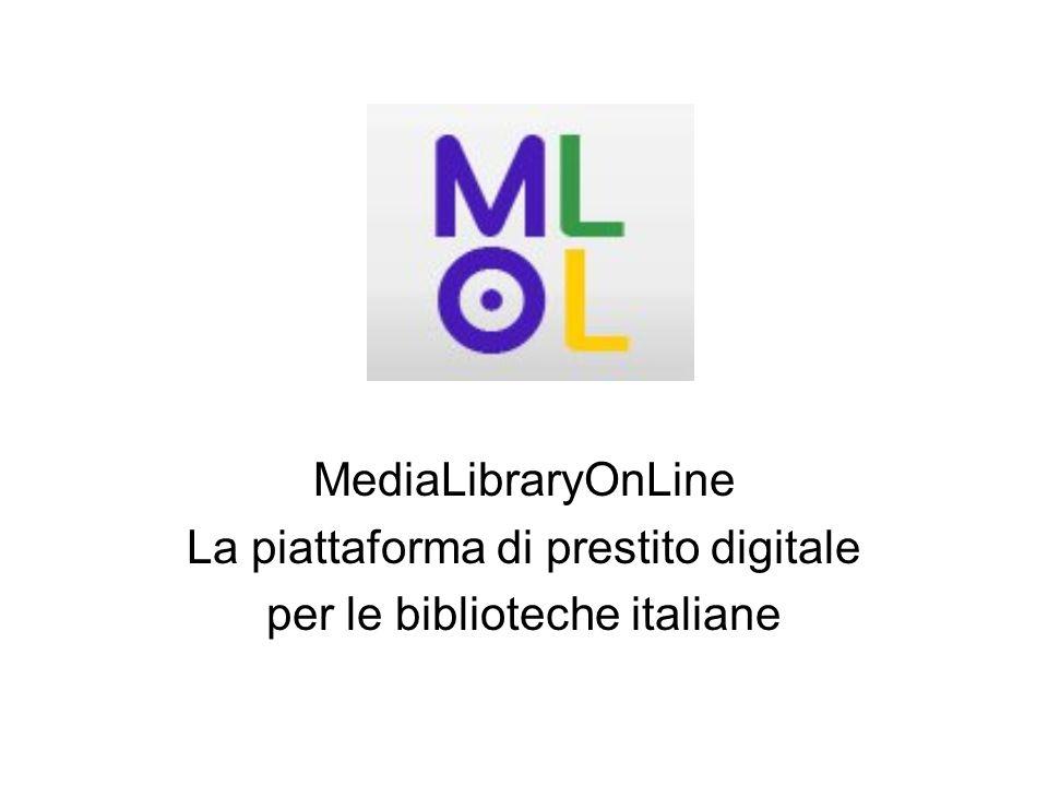 MediaLibraryOnLine La piattaforma di prestito digitale per le biblioteche italiane