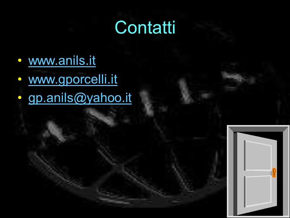 Contatti www.anils.it www.gporcelli.it gp.anils@yahoo.it