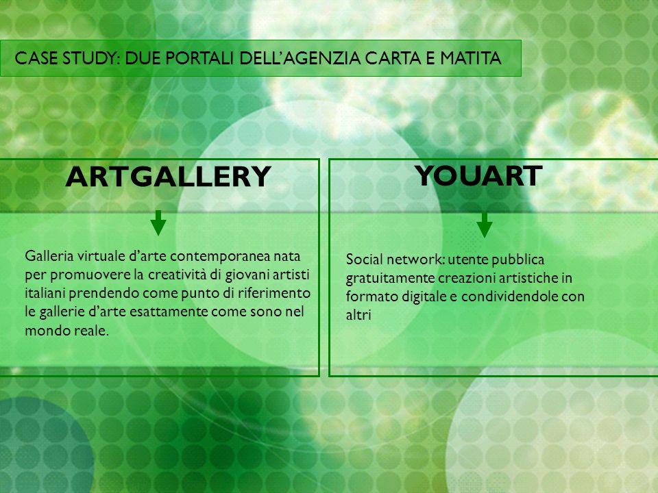 ARTGALLERY Galleria virtuale darte contemporanea nata per promuovere la creatività di giovani artisti italiani prendendo come punto di riferimento le