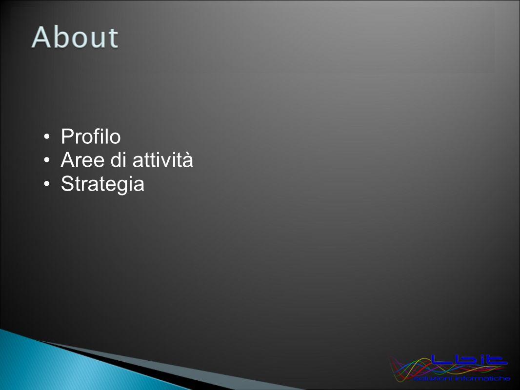 Profilo Aree di attività Strategia