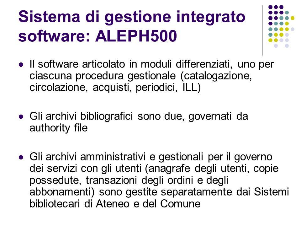 Tipologia degli archivi bibliografici di autorità amministrativi
