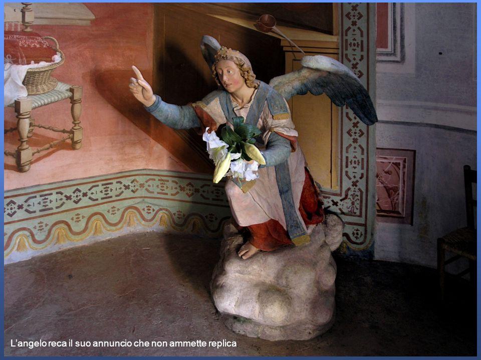 La Vergine, obbediente, sinchina.
