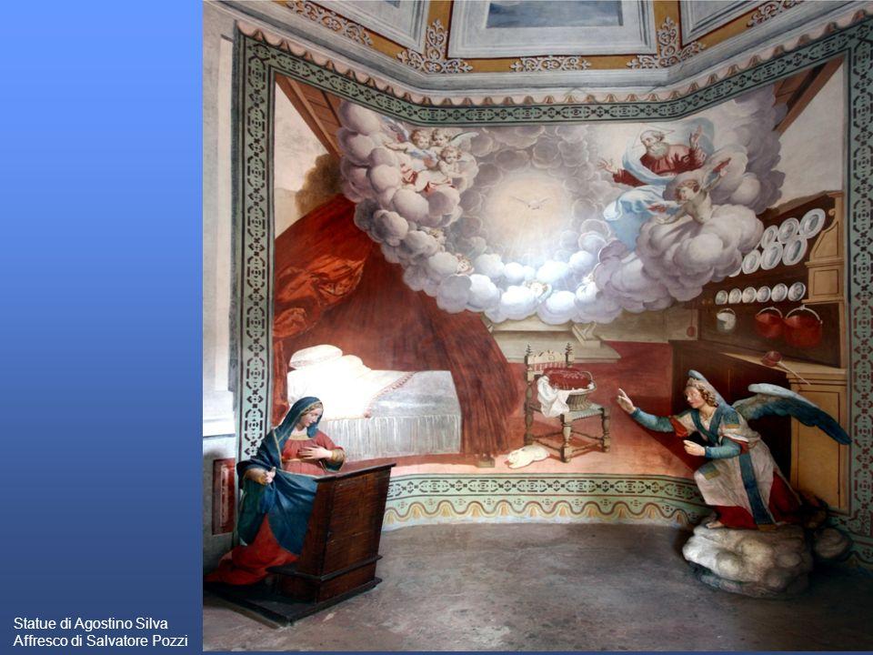 Statue di Agostino Silva Affresco di Salvatore Pozzi