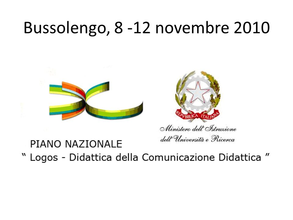 Bussolengo, 8 -12 novembre 2010