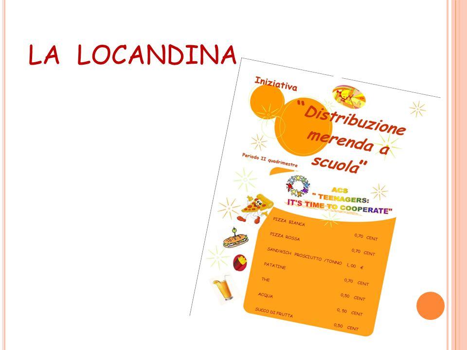…2° FASE Succhi di frutta, thè, acqua e patatine Sono stati forniti dal supermercato gestito dalla sig.ra Ivana Zagaglia, anche lei sempre sensibile a